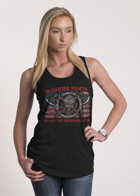 Women's Racerback Tank -  Warrior Pointe