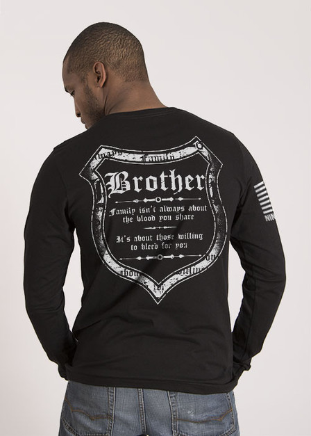 Men's Long Sleeve - Blood and Family
