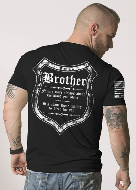 Men's Moisture Wicking T-Shirt - Blood and Family