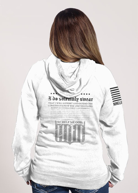 Women's V-Neck Hoodie - The Oath