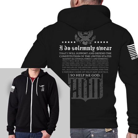 Men's Full-Zip Hoodie - The Oath