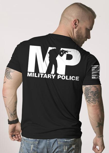 Men's Moisture Wicking T-Shirt - Military Police