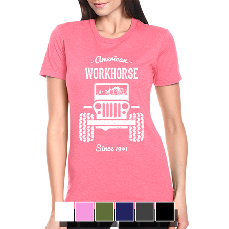 Womens Tee - American Workhorse - Full Front
