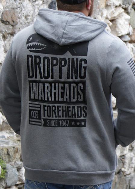 Full-Zip Hoodie - Warheads on Foreheads