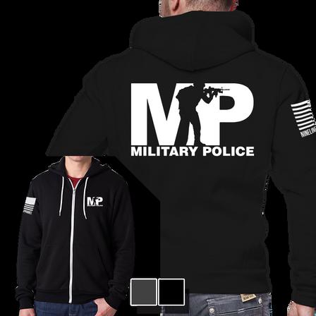 Full-Zip Hoodie - Military Police