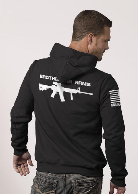 Brothers in Arms Drop Line/Rifle - Hoodie