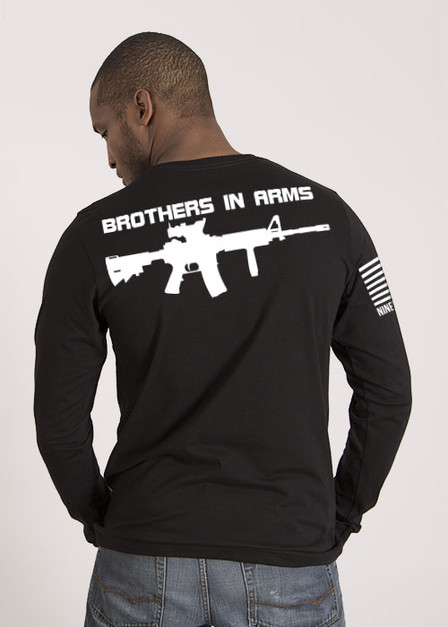 Brothers in Arms Drop Line/Rifle - Long Sleeve