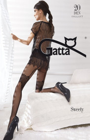 Sweety 05 Tights Imitating Stockings 20 Den