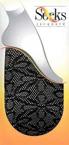Jacquard Fishnet Socks 06