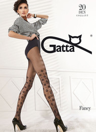 GATTA Fancy 04 Diamond Pattern Tights 20 Den