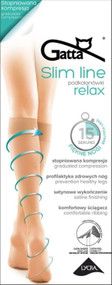 GATTA Slim Line Relax Knee High 15 Den