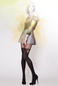 GATTA Girl-Up 29 Bow  Pattern Tights