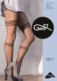 Sweety 15 Patterned Tights