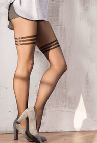 GATTA Sweety 15 Patterned Tights 20 Den