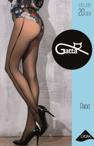 GATTA Rikki 01 Pattern Tights 20 Den
