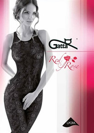 GATTA Red Rose 03 Sexy Bodystocking
