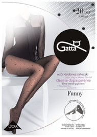 Funny 05 Mesh Patterned Tights 20 Den