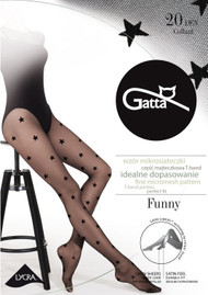 GATTA Funny 06 Stars Pattern Tights 20 Den