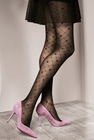 GATTA Royale 01  Pattern Tights 40 Den