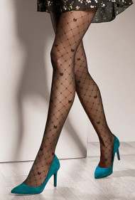 GATTA Royale 03  Pattern Tights 40 Den
