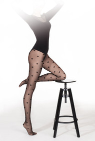GATTA Funny 08 Heart Patterned Tights 20 Den