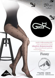 GATTA Funny 11 Anchor Patterned Tights 20 Den