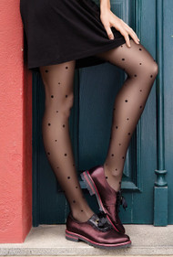 GATTA Dotsy 07 Polka Dot Pattern Tights