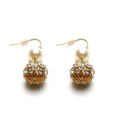Champagne & Roses Earrings