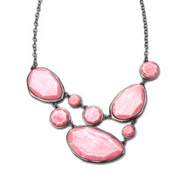 Peach Picking in the Park Necklace