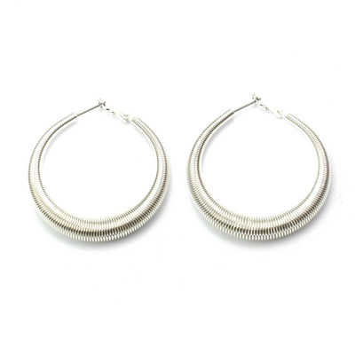 All Wired Up Hoop Earrings