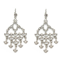 Dazzling Crystal Chandelier Earrings