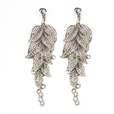 Crystal Petals Earrings