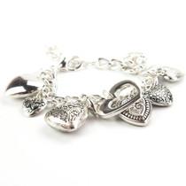 Full of Love Heart Charm Bracelet