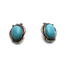 Aztec Clip Earrings