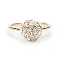 A Little Luxury Cubic Zirconia Ring