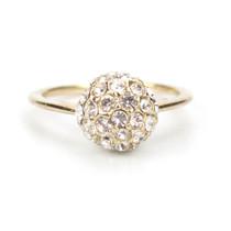 A Little Luxury Cubic Zirconia Ring