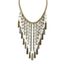 Free Fall Bib Necklace