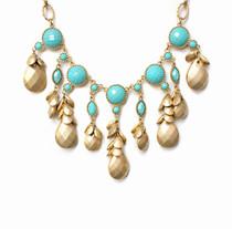 Casablanca Turquoise Bead Necklace