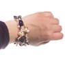 C'est Magnigique Amethyst and Pearl Bracelet