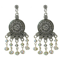 Aztec Jewels Crystal Earrings