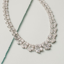 Ice Princess Cubic Zirconia Necklace