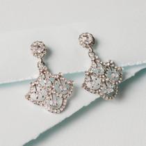 Harlequin Austrian Crystal Earrings