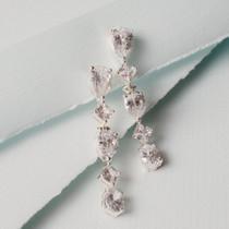 Gleaming Cubic Zirconia Earrings