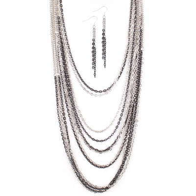 Cascadin Beauty Necklace and Earring Set