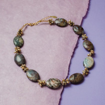Amaretto Jasper Necklace