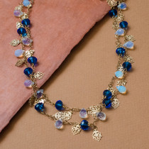 Jewels of Versailles Genuine Opal Quartz Necklace