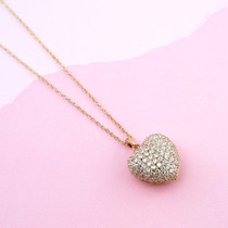 Loving Touch Crystal Necklace