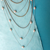 Little Indulgence Chain and Pearl Necklace