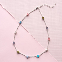 Rock Candy Genuine Cat's Eye Necklace