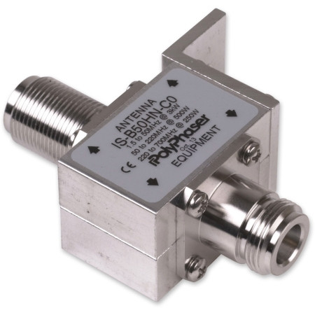 PolyPhaser 1.5-700 MHz DC Blocked Protector - N Female